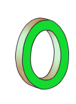 0-3d number nought Green - John Duffield duffield-design