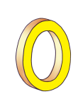 0-3d number nought Yellow - John Duffield duffield-design