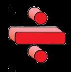 1-3d Symbols Division-Red