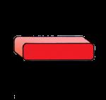 1-3d Symbols Minus-Red