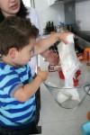 1 Joey pours in cake mix Bev Dunbar Maths Matters