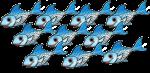 10 blue fish John Duffield