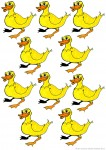 10 ducks - place value John Duffield duffield-design