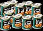 10 tins Baked Beans John Duffield