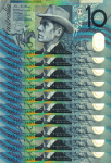 $100 as $10 notes 1 Bev Dunbar Maths Matters