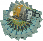 $100 as $10 notes 2 Bev Dunbar Maths Matters
