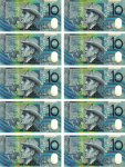 $100 as $10 notes 3 Bev Dunbar Maths Matters copy