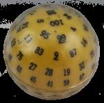 100 sided die Bev Dunbar Maths Matters