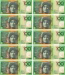 $1000 as $100 notes Bev Dunbar Maths Matters