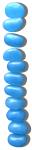 11 Blue Jellybeans Column Graph Bev Dunbar Maths Matters