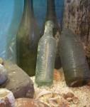 125 year old Shipwreck Bottles Bev Dunbar Maths Matters