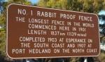 1837 km Rabbitproof Fence Sign WA  Bev Dunbar Maths Matters