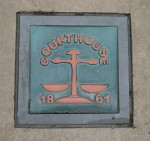 1861 Courthouse Sign Morpeth Bev Dunbar Maths Matters