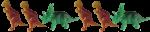 2 1 Dinosaur pattern Bev Dunbar Maths Matters