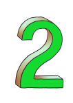 2-3d number two Green - John Duffield duffield-design