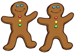 2 Gingerbread Counters John Duffield