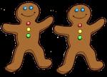 2 Gingerbread Counters John Duffield