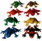 Count by 8s - 2 by 4 frog array - Bev Dunbar Maths Matters