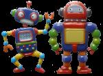 2 robots Bev Dunbar Maths Matters
