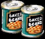 2 tins Baked Beans John Duffield