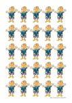 25 Counting Girls POSTER Bev Dunbar Maths Matters
