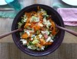 2D Circle salad - food - Bev Dunbar Maths Matters