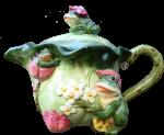 3 Frogs Teapot $60 Bev Dunbar Maths Matters