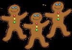 3 Gingerbread Counters John Duffield