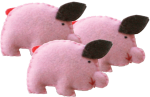 3 little pigs - Bev Dunbar Maths Matters