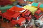 3 old toy trucks $5.95 each Bev Dunbar Maths Matters