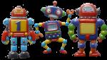 3 robots Bev Dunbar Maths Matters
