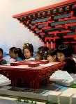 3D Model Chinese Pavilion Expo 2010 Bev Dunbar Maths Matters