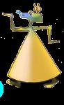 3D Object Cone Anubis - John Duffield duffield-design