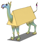 3D Object Triangular Prism Camel - John Duffield duffield-design