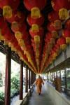 3D Sphere Lantern Walkway Shanghai Bev Dunbar Maths Matters