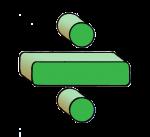 4-3d Symbols Division-Green