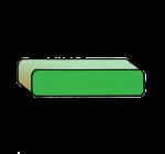4-3d Symbols Minus-Green