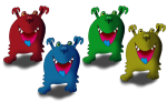 4 monsters John Duffield