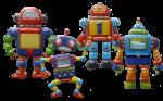 4 robots Bev Dunbar Maths Matters
