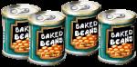 4 tins Baked Beans John Duffield
