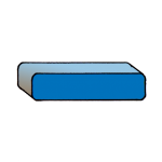 5-3d Symbols Minus-Blue