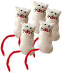 Count by 5s - White Cats Bev Dunbar Maths Matters