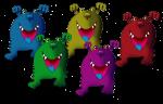 5 monsters John Duffield