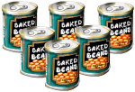 5 tins Baked Beans John Duffield