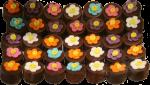 5 x 7 Flowerpot Chocolates Bev Dunbar Maths Matters