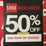 50 percent off 2nd pair shoes Bev Dunbar Maths Matters
