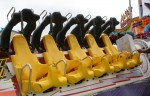 6 groups of 5 seats on the Space Roller at the Show bev Dunbar Maths Matters