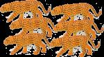 6 leopards Bev Dunbar Maths Matters