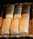 6 loaves of seeded bread Morpeth - Bev Dunbar Maths Matters