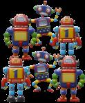 6 robots Bev Dunbar Maths Matters